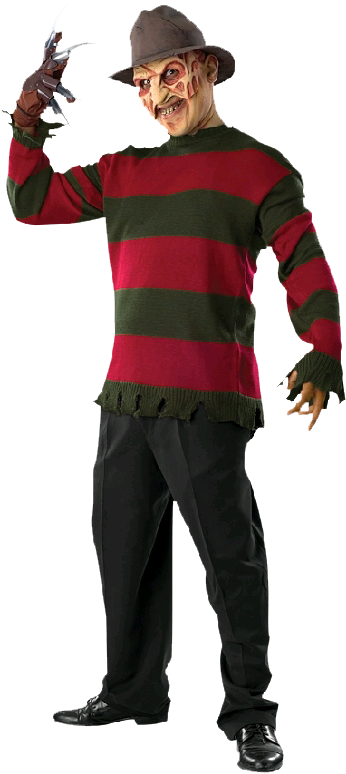 Freddy Krueger - Nightmare On Elm Street Costume, Transparent Png