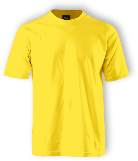 Yellow Shirt Plain T Shirt Front And Back Yellow Png Download Original Size Png Image Pngjoy