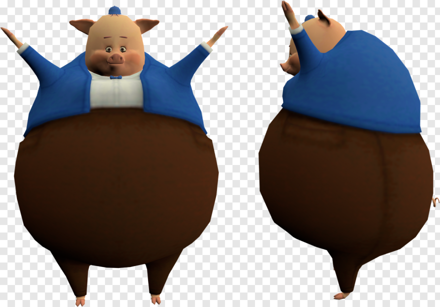 Chicken Little Carl Wheezer T Pose Hd Png Download 1373x959 13540847 Png Image Pngjoy