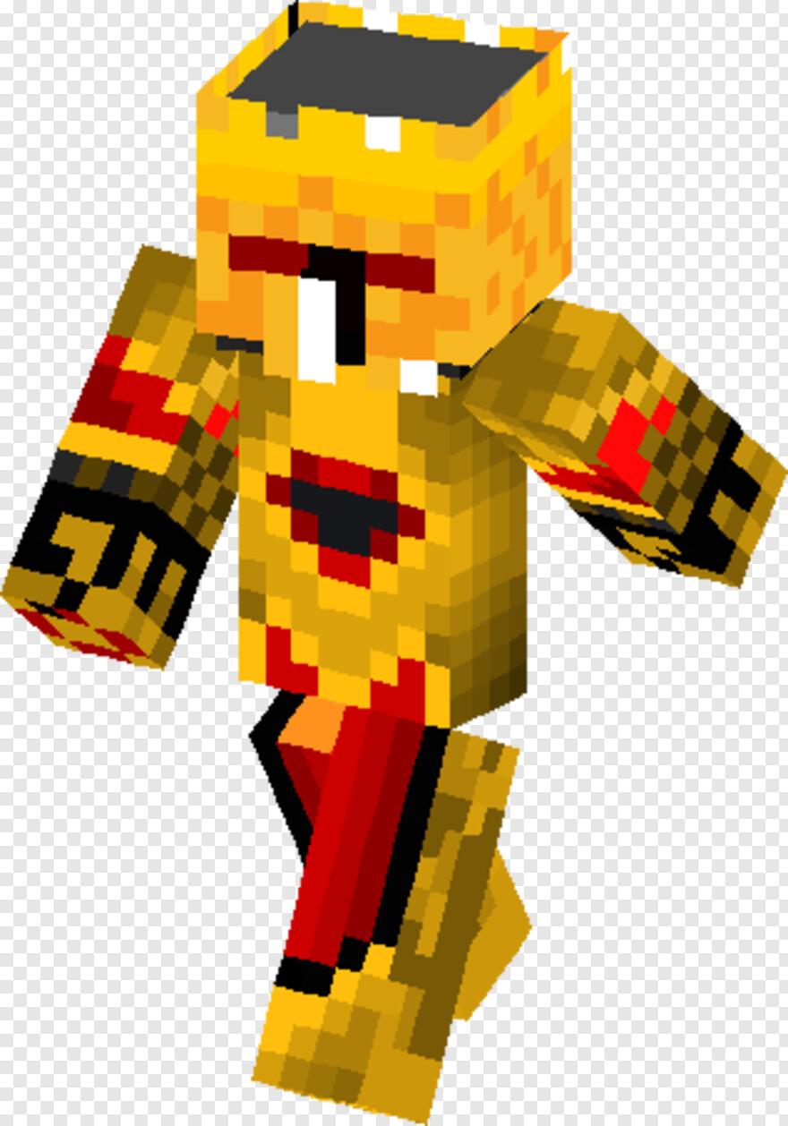 Red Cape - Minecraft Skins Human Knight, HD Png Download - 8x8