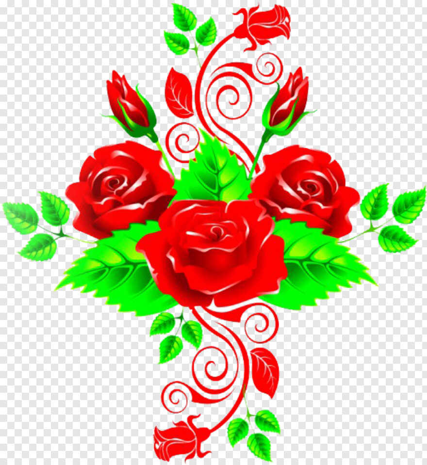Roses Vector - Vector Effects For Photoscape, Transparent Png
