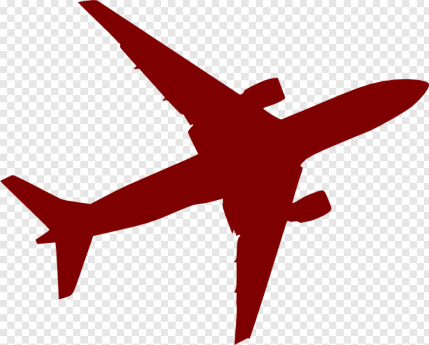 Airplane Logo Airplane Vector Png Red Png Download 600x483