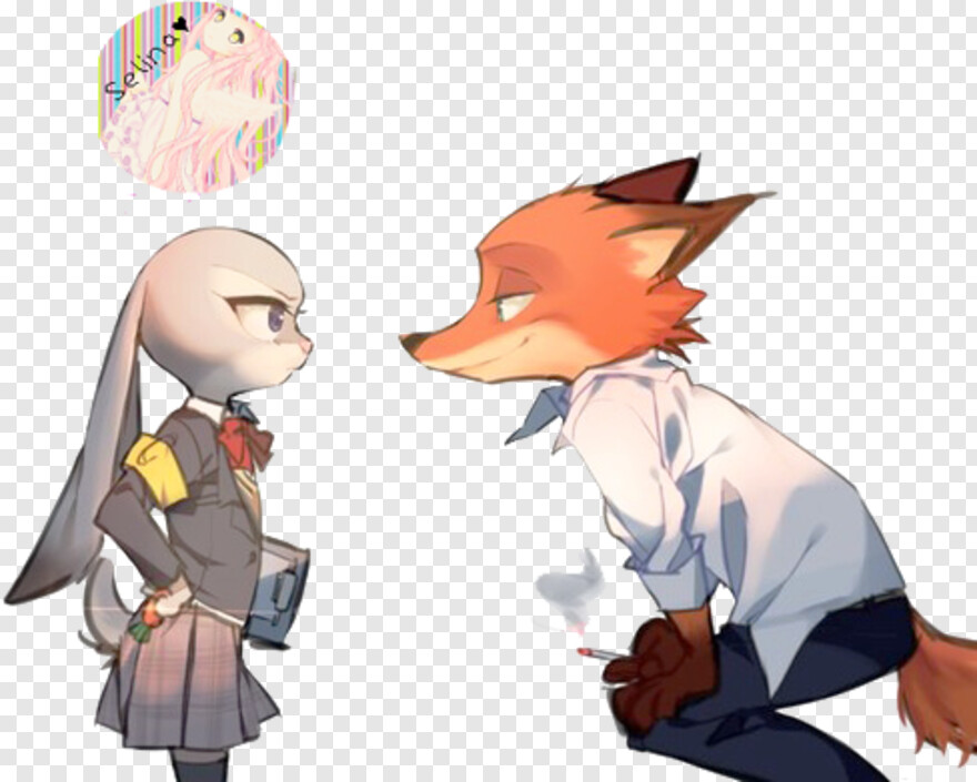 Zootopia - Nick And Judy High School, Png Download@pngjoy.com