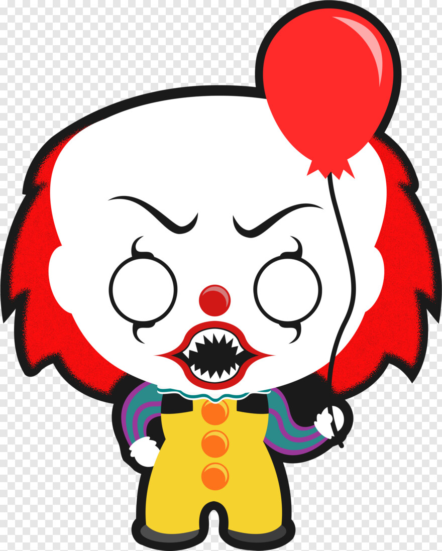 Pennywise - Jason Halloween Clipart, Png Download ...