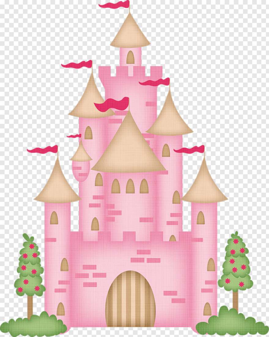 Castle Topo Bolo Barbie Princesa Hd Png Download 818x1024