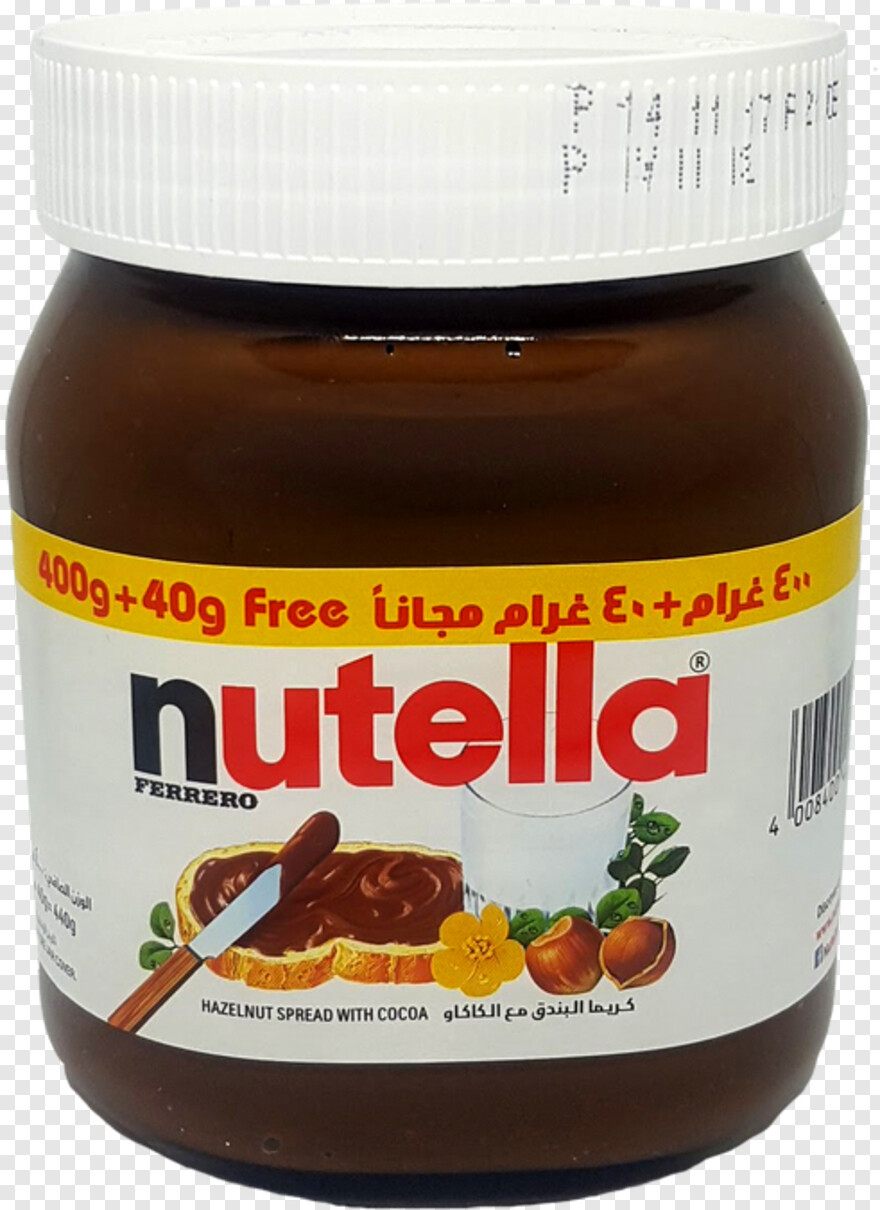 Nutella Nutella Hazelnut Spread With Cocoa Png Download