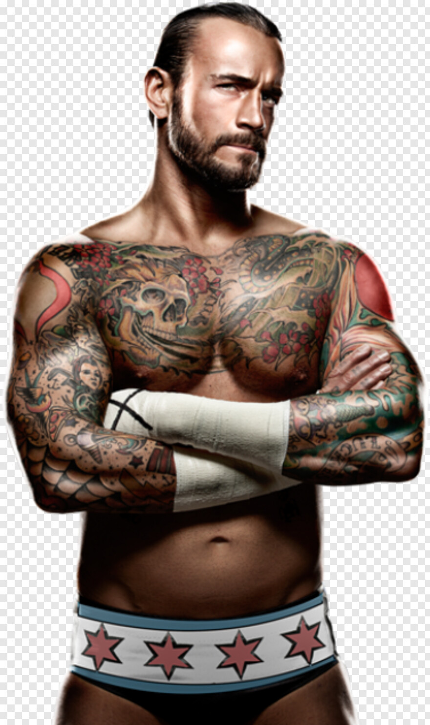 Cm Punk - Adam Cole Cm Punk, Png Download