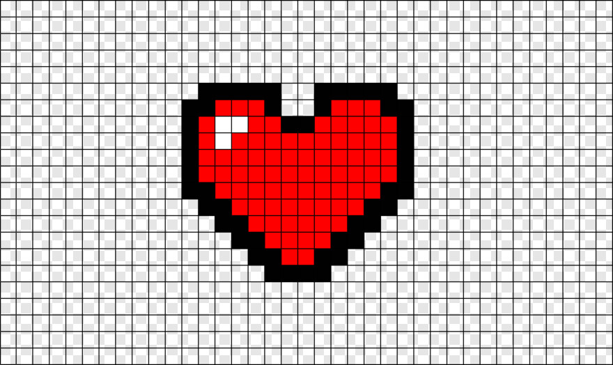 Pixel Heart Pixel Art Logo Superman Transparent Png