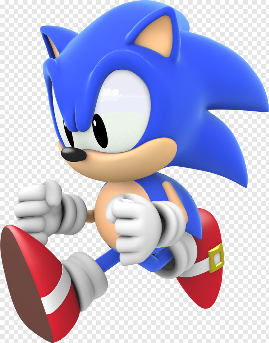 Classic Sonic Sonic Generations Classic Sonic Running Png Download 1920x2160 2981382 Png Image Pngjoy