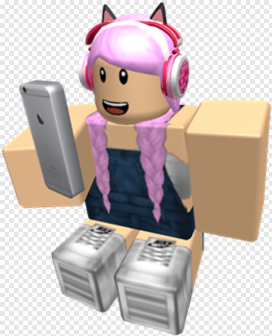 Black Girl Roblox Character Roblox Character Roblox Girl With Phone Transparent Png 420x420 3010488 Png Image Pngjoy