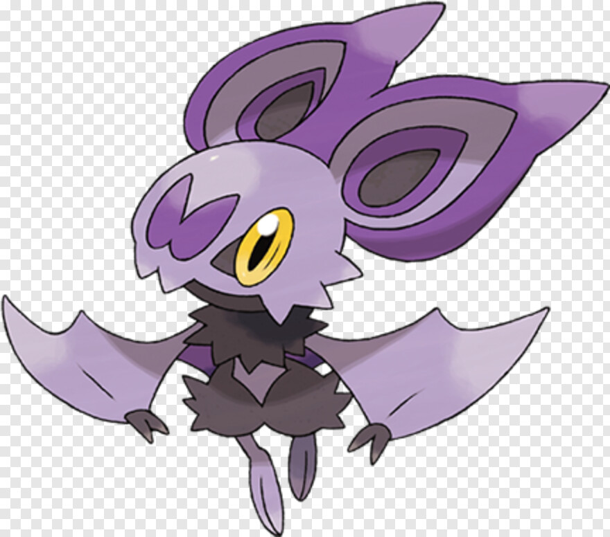 Crobat - Noibat Evolution, Transparent Png