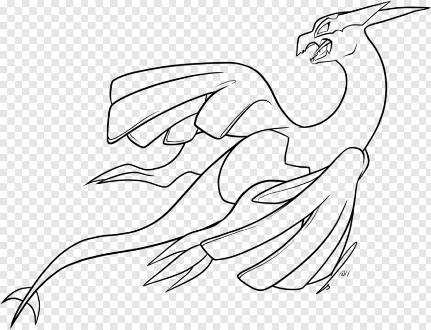 23+ Awesome Mega Legendary Pokemon Coloring Pages Selections