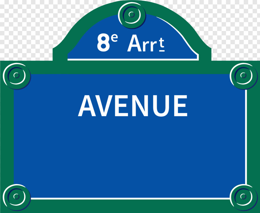 Street Sign - Paris Street Sign Png, Png Download