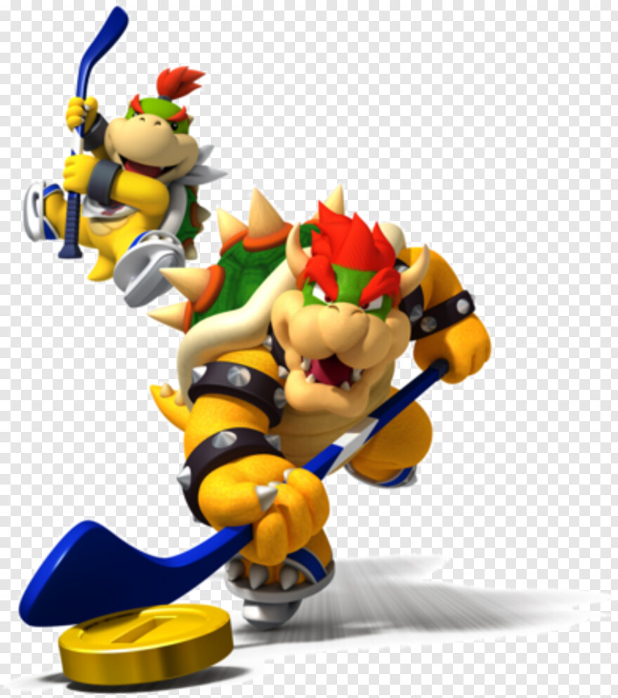 Bowser Jr Mario Sports Mix Nintendo Wii Transparent Png