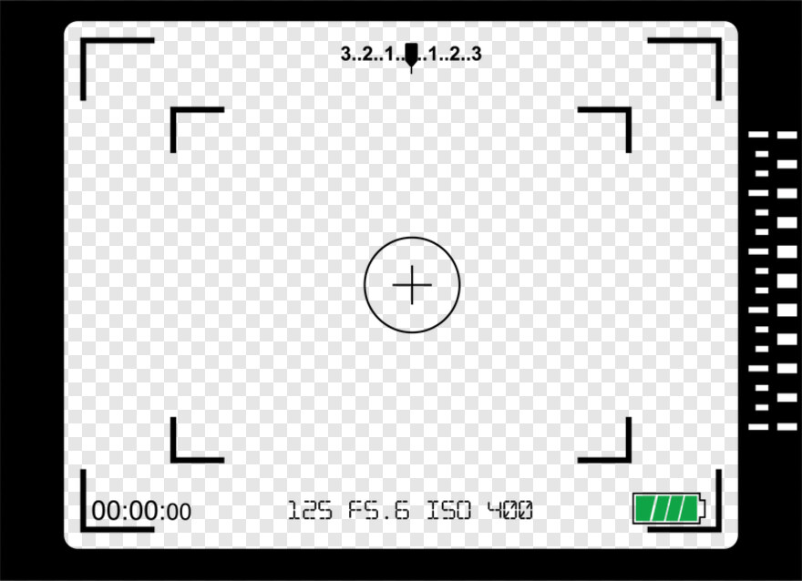 Camera Viewfinder - Old Camera Viewfinder Png, HD Png Download