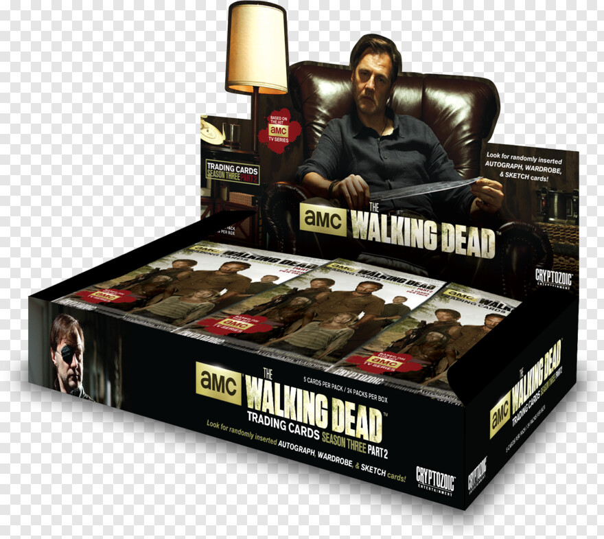 Rick Grimes - Walking Dead Season 3 - Part 2 Trading Cards Box, Png Download