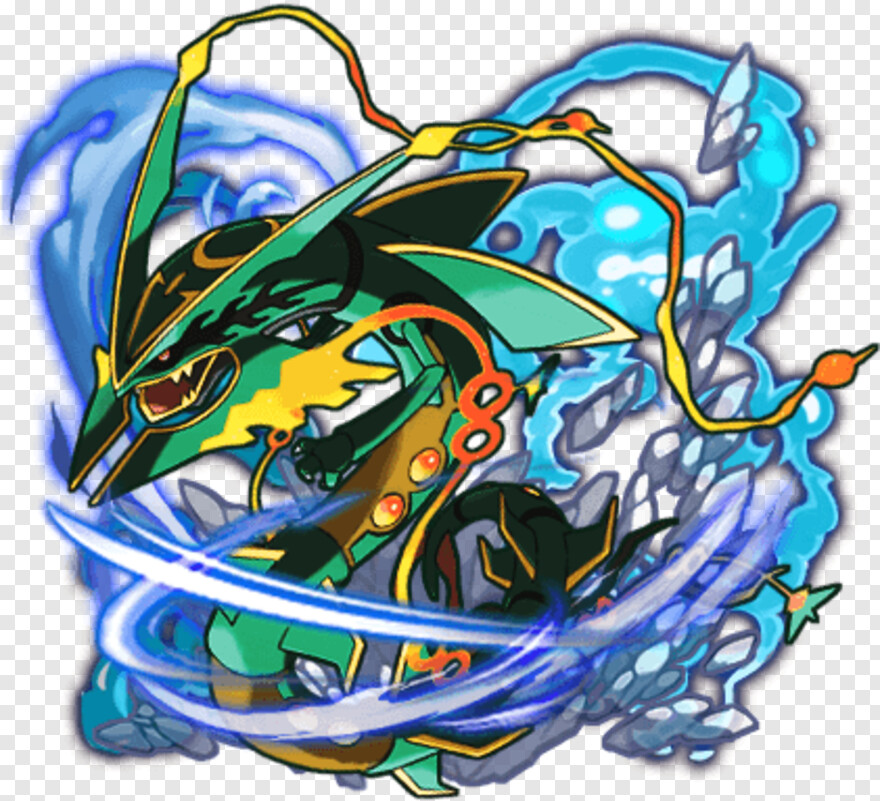 Rayquaza Illustration Hd Png Download 420x420 3650667