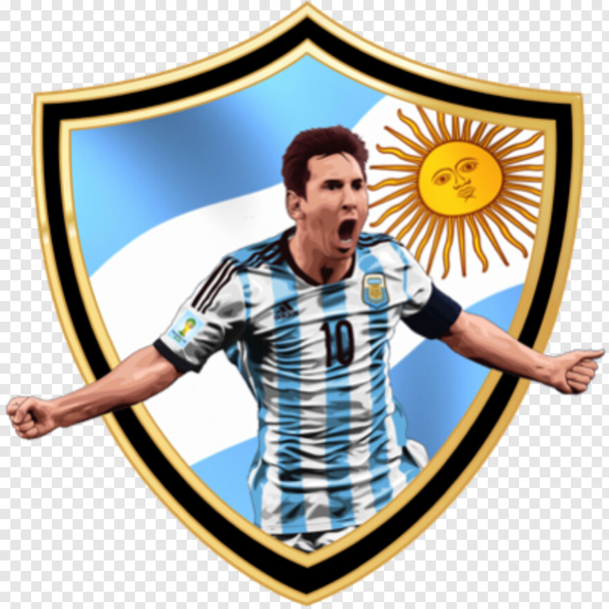 Messi Png Messi With Argentina Logo Png Download 400x400