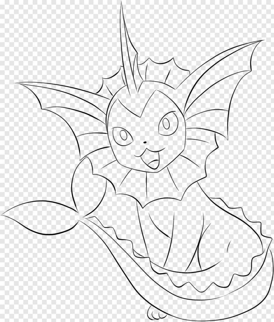 Vaporeon Vaporeon Coloring Pages Pokemon Eevee Evolutions Hd Png Download 846x991 3807464 Png Image Pngjoy