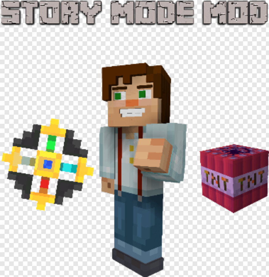 Minecraft Story Mode Logo Mc Story Mode Amulet Hd Png Download