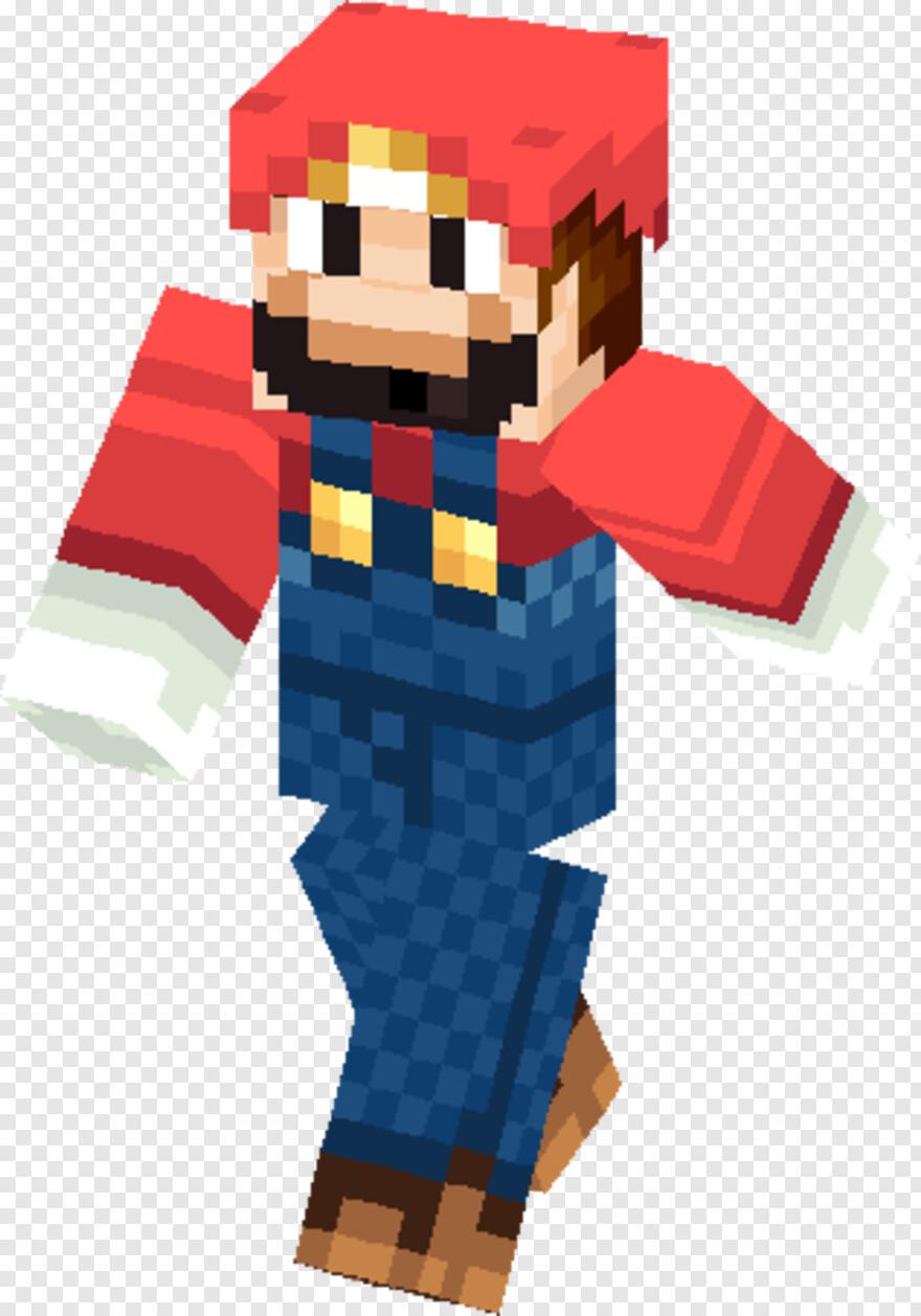 Mario Bros - Wario Minecraft Skin, HD Png Download - 9x9