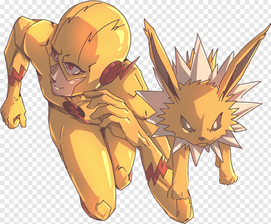 Jolteon - Flash Vs Zoom, Png Download