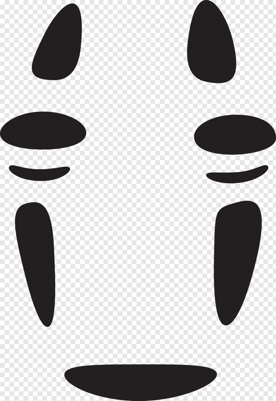 Studio Ghibli No Face Spirited Away Vector Transparent Png 3840x5569 3902985 Png Image Pngjoy