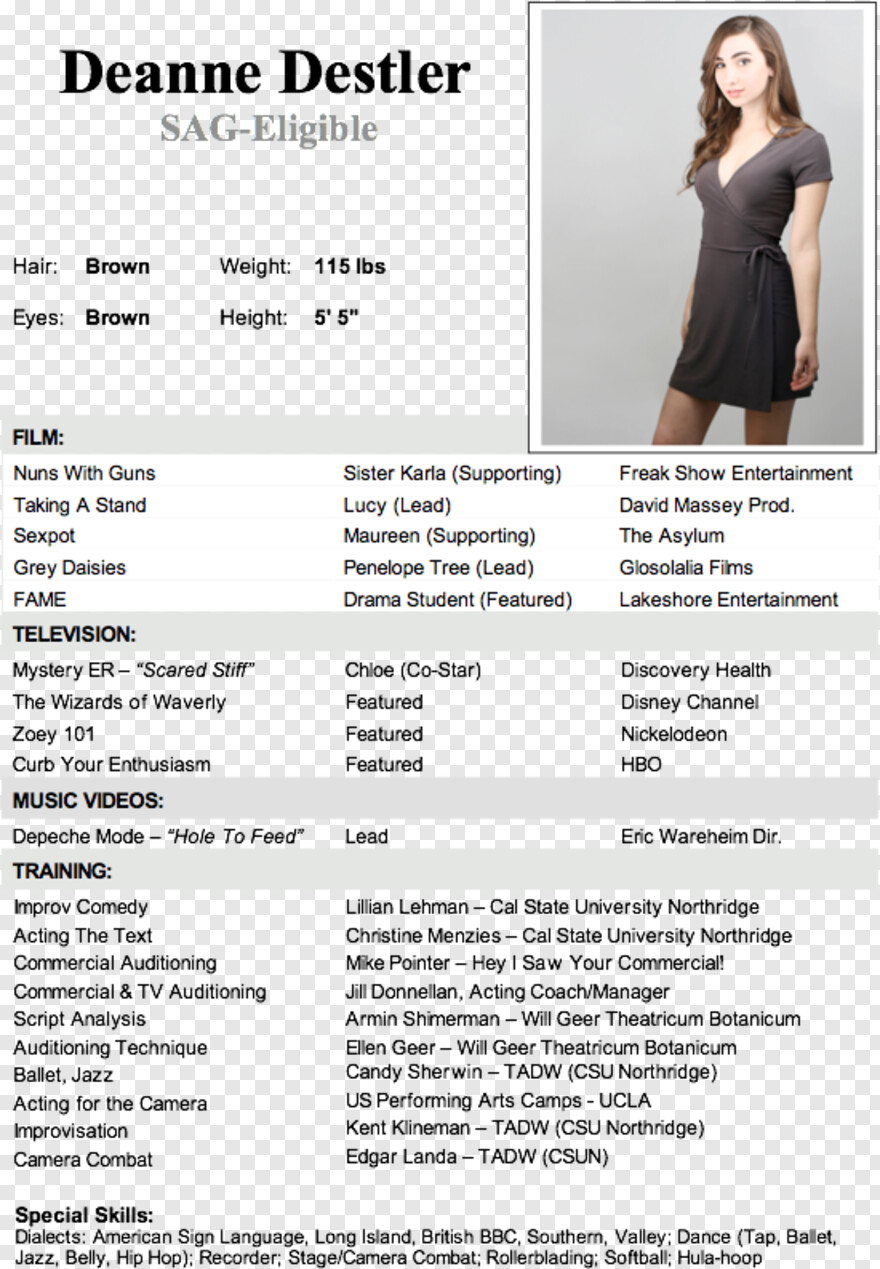 Acting Example Of Resume For Domestic Helper Transparent Png