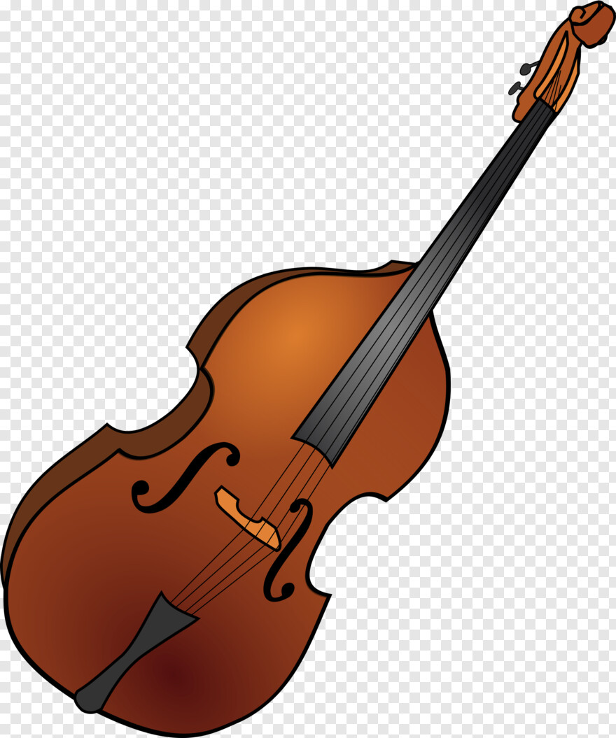 Cello Bass Instrument Clipart Hd Png Download 2001x2400