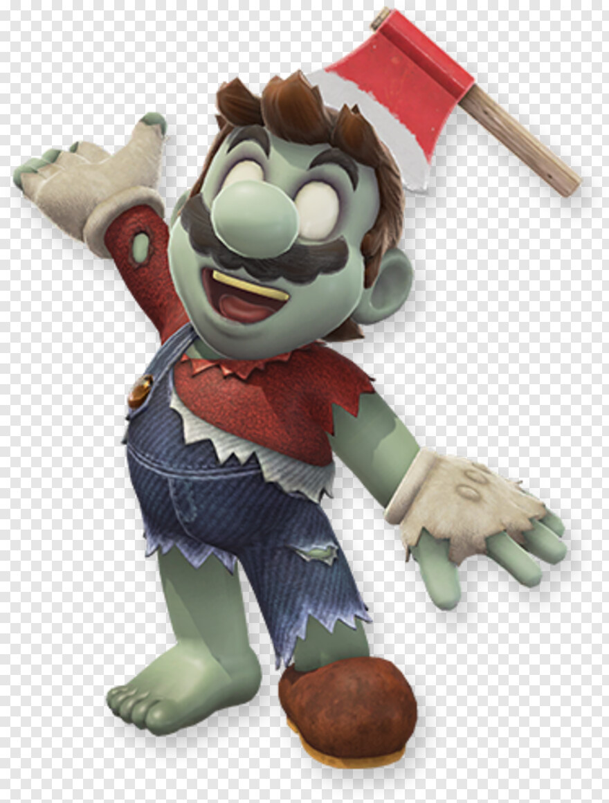 Super Mario Mario Odyssey Zombie Outfit Png Download 720x760