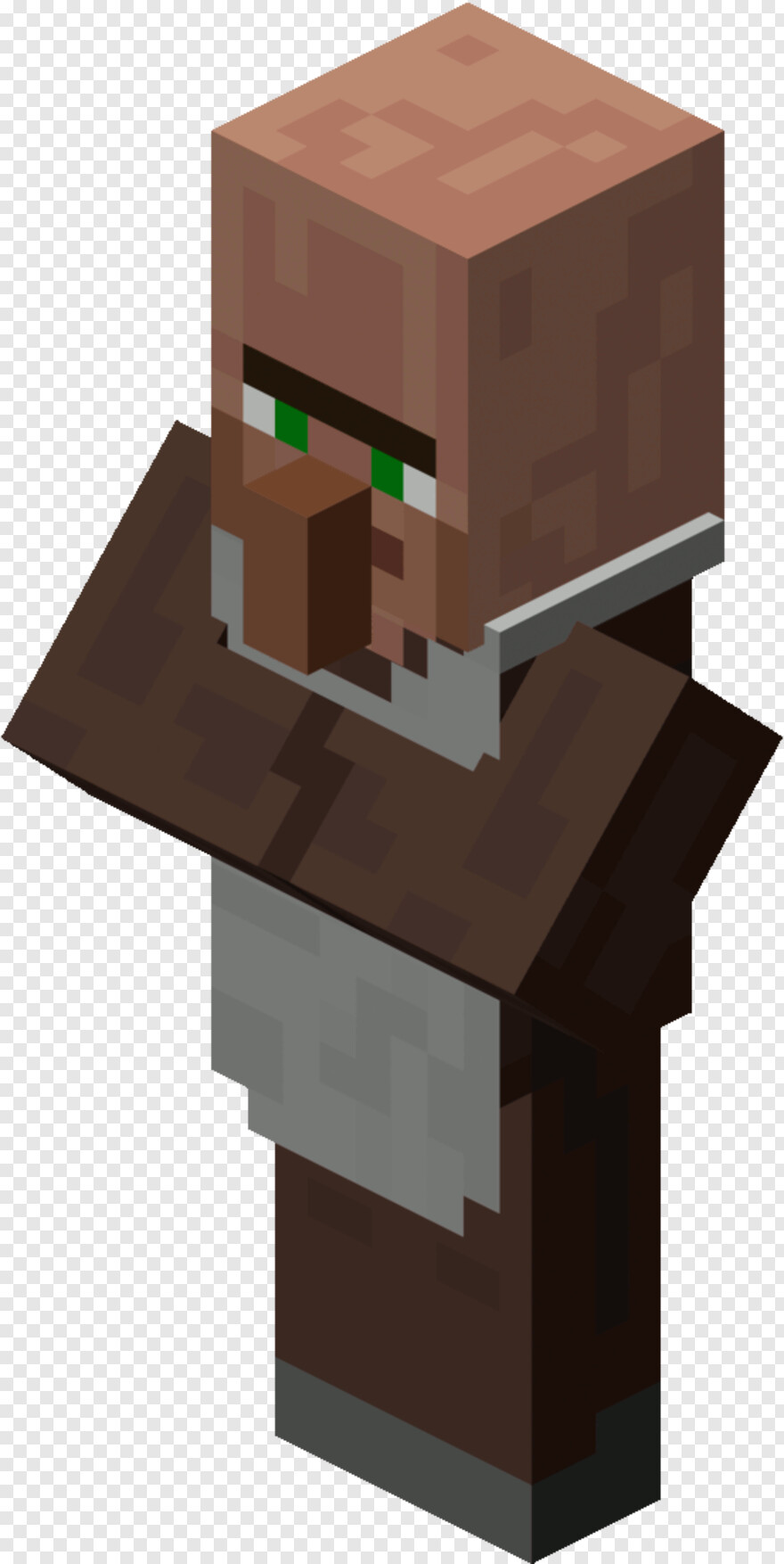 Minecraft Character - Minecraft Villager Png, HD Png Download
