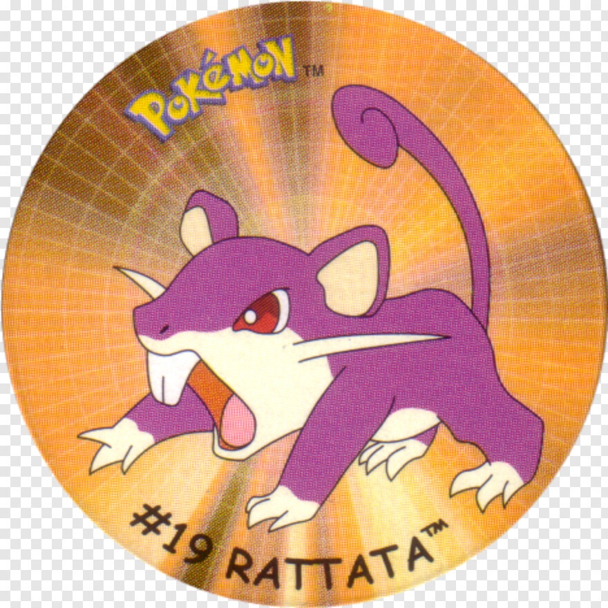 Rattata Pokemon The First Movie Mewtwo Strikes Back 1998