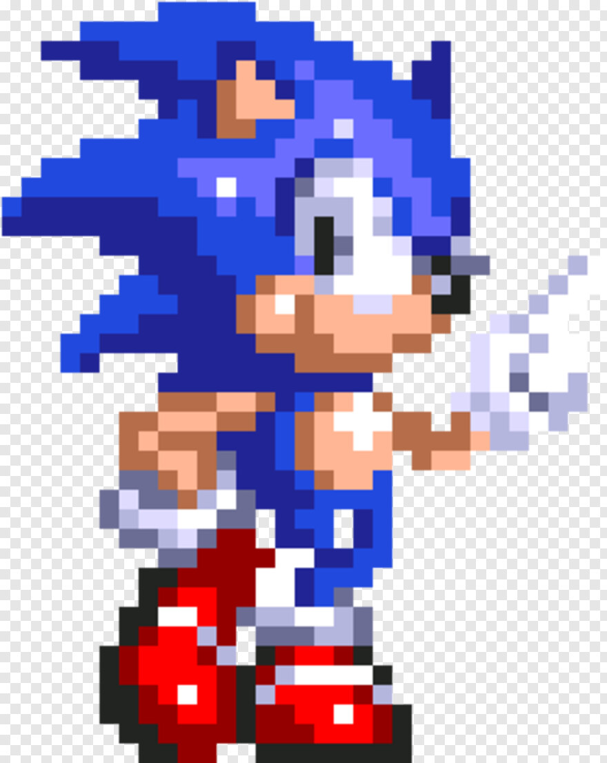 Sonic Sprite 8 Bit Sonic Gif Png Download 320x390 4489682 Png Image Pngjoy