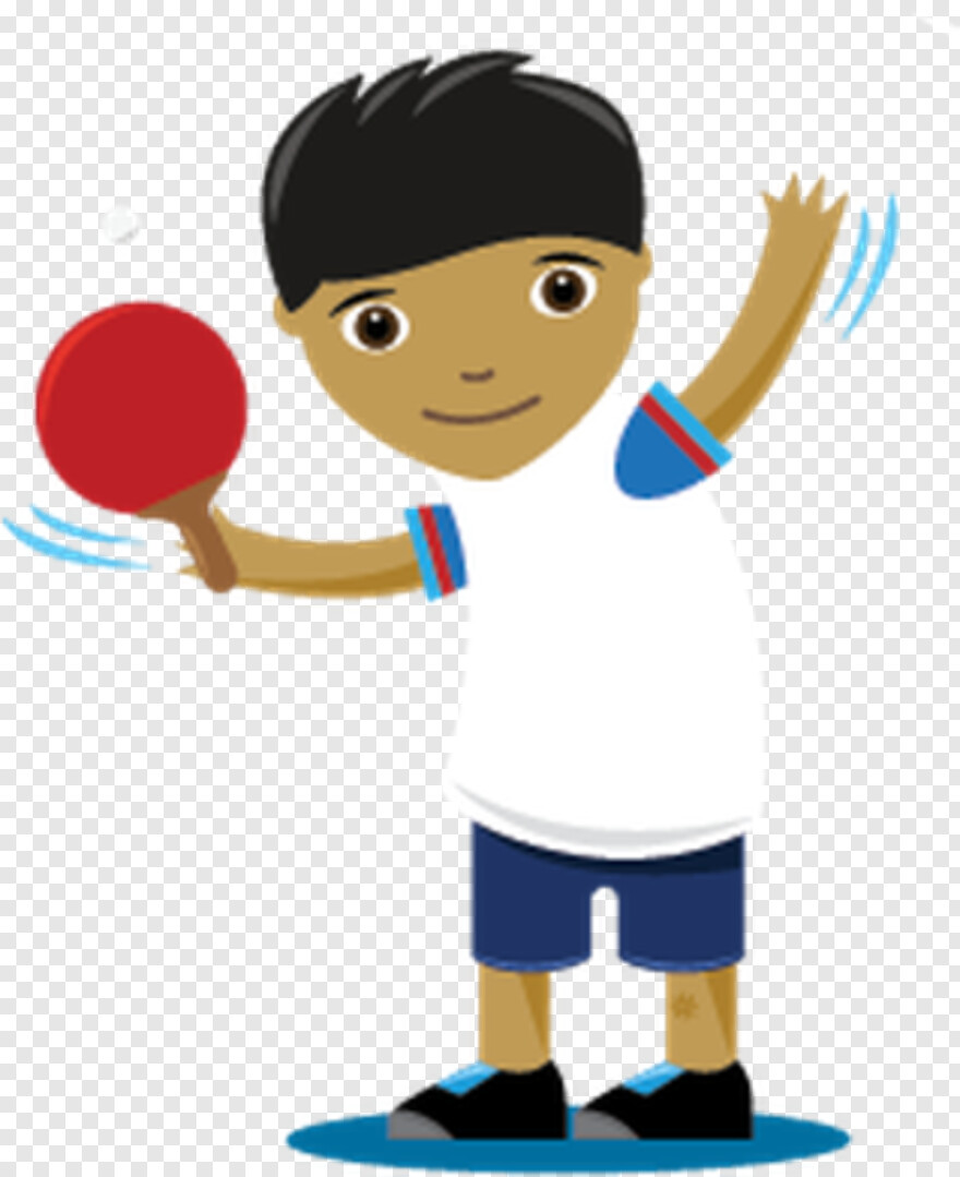Table Tennis - Table Tennis Cartoon Png, Transparent Png