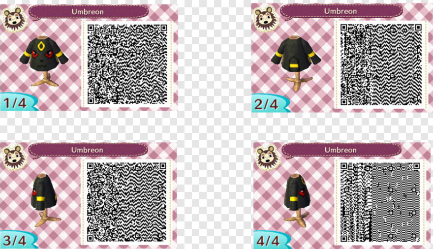 Qr Code Animal Crossing Qr Codes Flannel Png Download 900x518