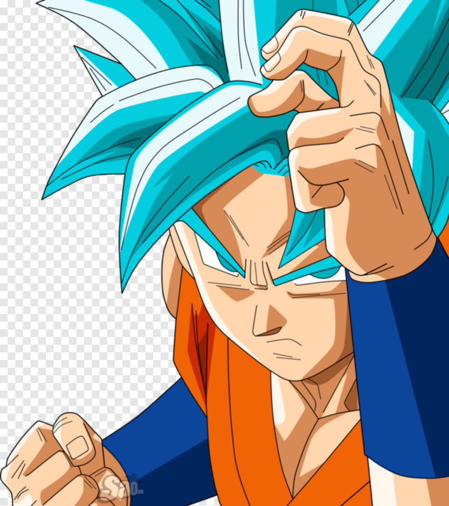 Super Saiyan God - Imagenes De Goku Ssgss, HD Png Download