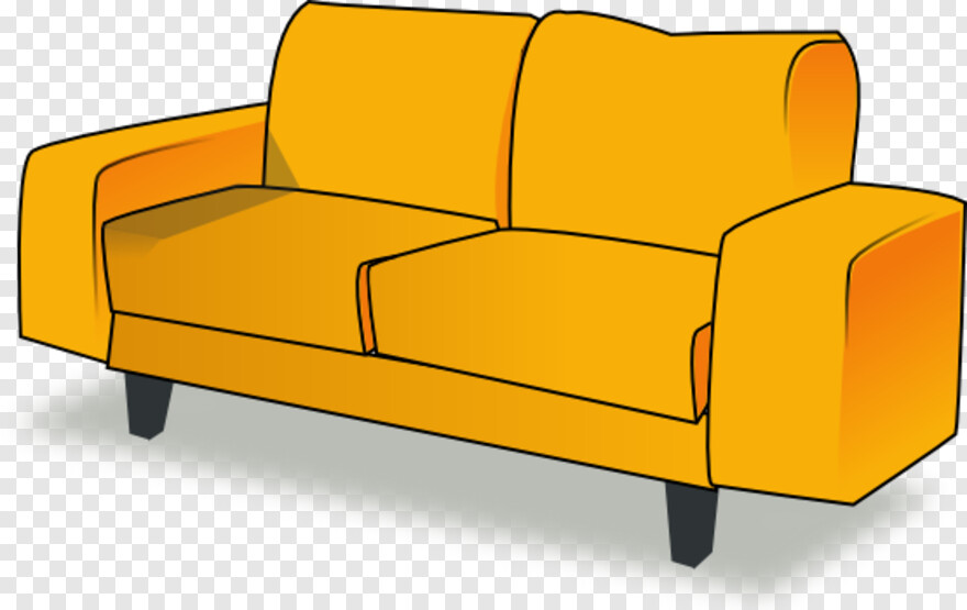 Sofa Chair Clipart Couch Transparent Png 555x350