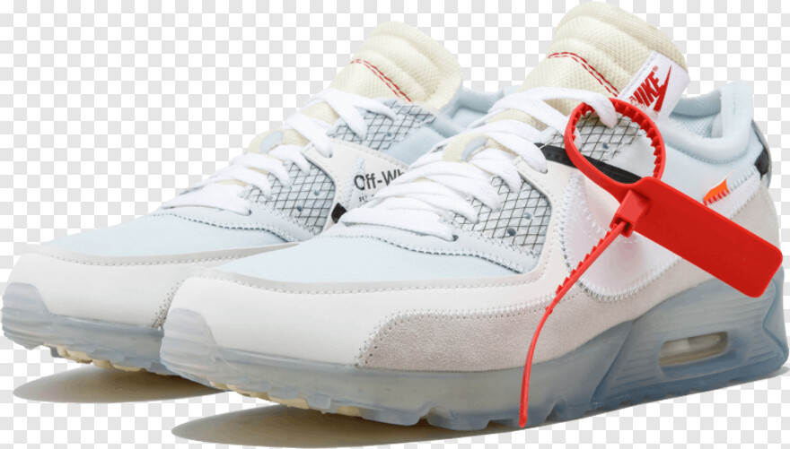 Off White - Air 90 Off White, Png Download