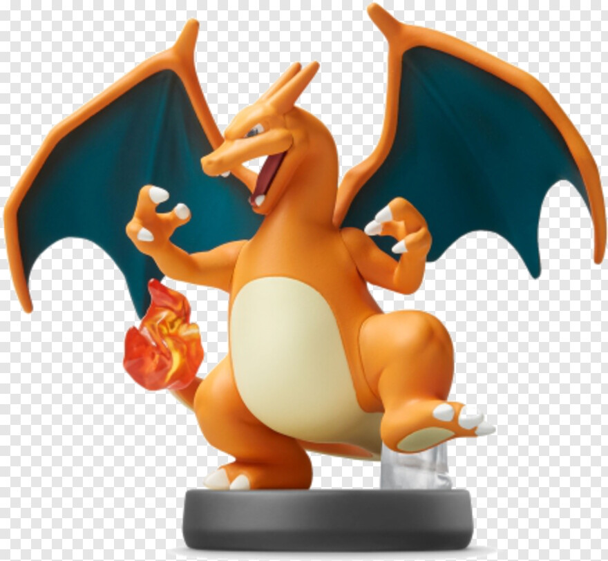 Amiibo Charizard Amiibo Png Download 500x474 5132532