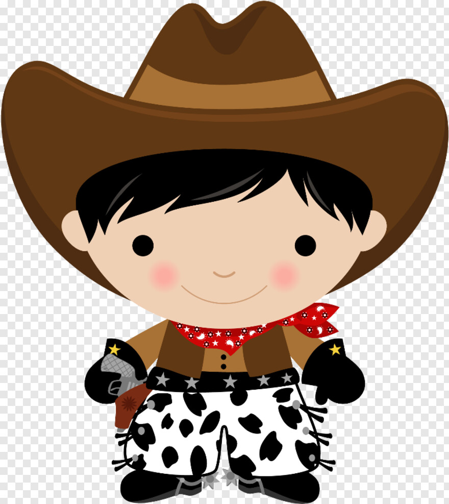 Western Clip Art Cowgirl And Cowboy Clipart Hd Png Download