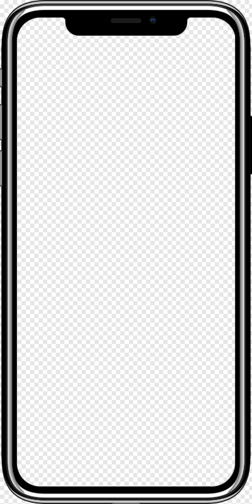 Iphone Frame Iphone X Transparent Screen Hd Png Download