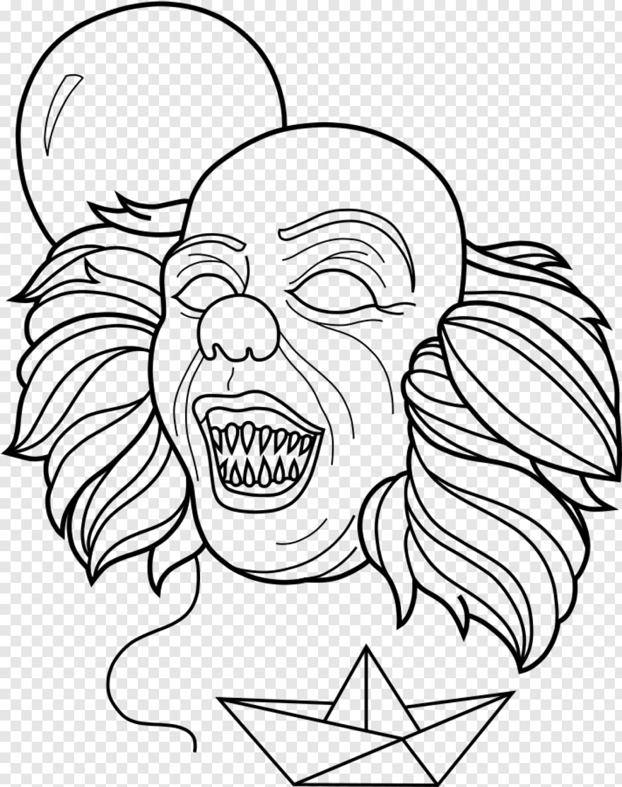 Pennywise The Clown - Mini Pennywise Coloring Pages ...