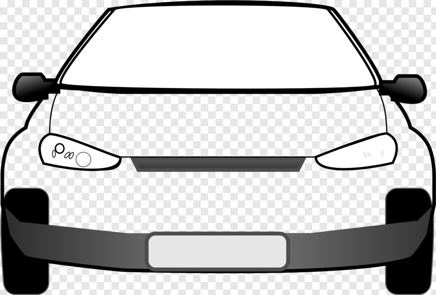 Lightning Mcqueen - Car Front Vector Png, Png Download