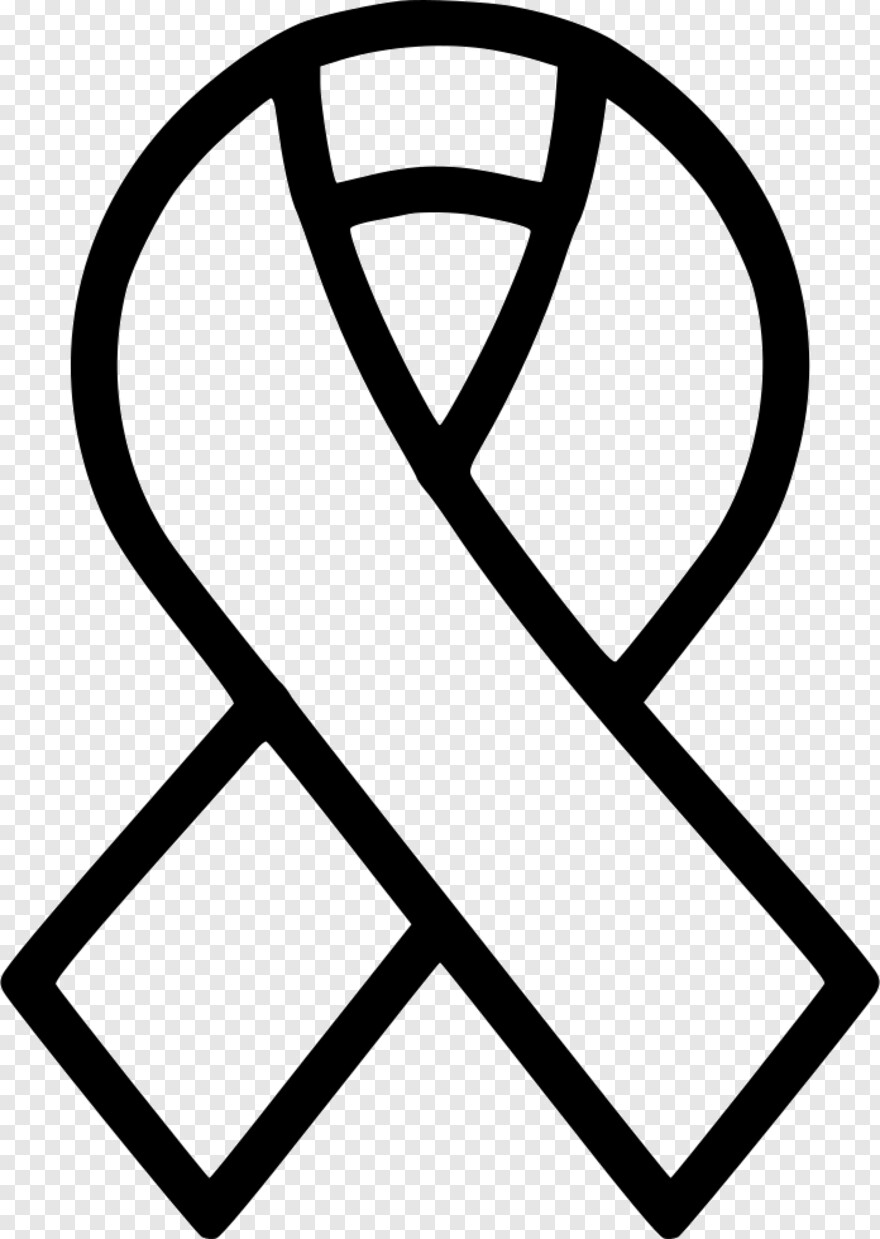 aids ribbon cancer ribbon clipart black and white hd png download 696x980 5705124 png image pngjoy aids ribbon cancer ribbon clipart