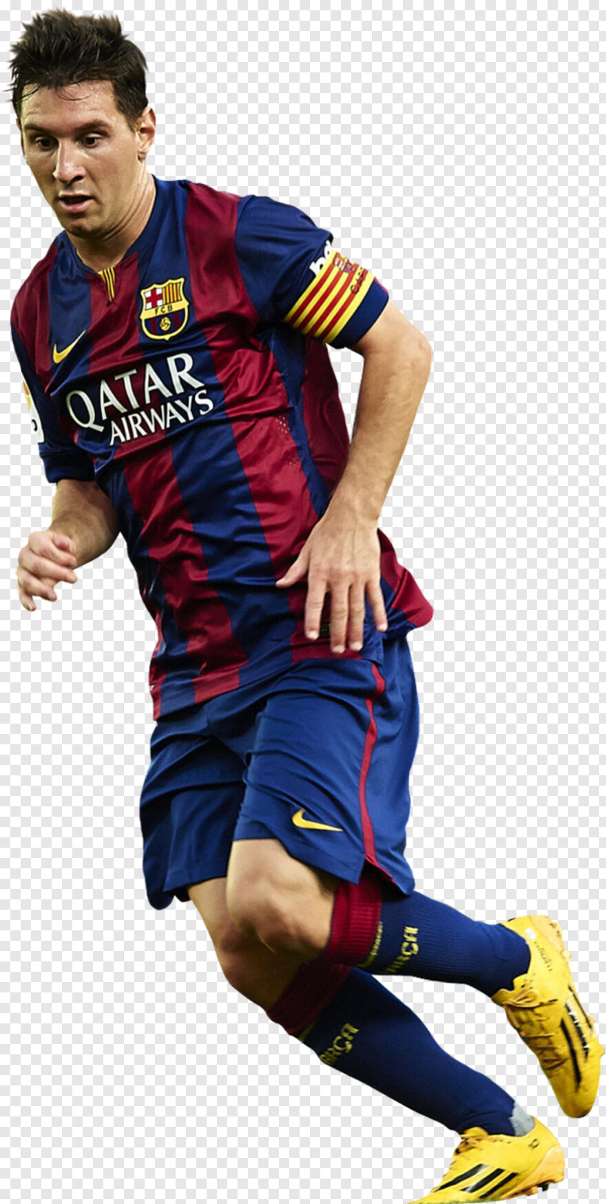 Messi - Lionel Messi Png 2015, HD Png Download - 600x1191 ...