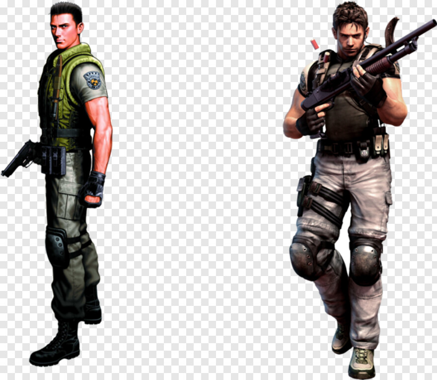 Chris Redfield Chris Resident Evil Cosplay Png Download