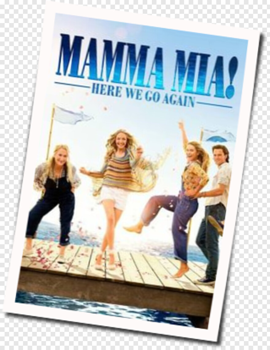 Amanda Seyfried - Mamma Mia Here We Go Again Showtimes, HD Png Download