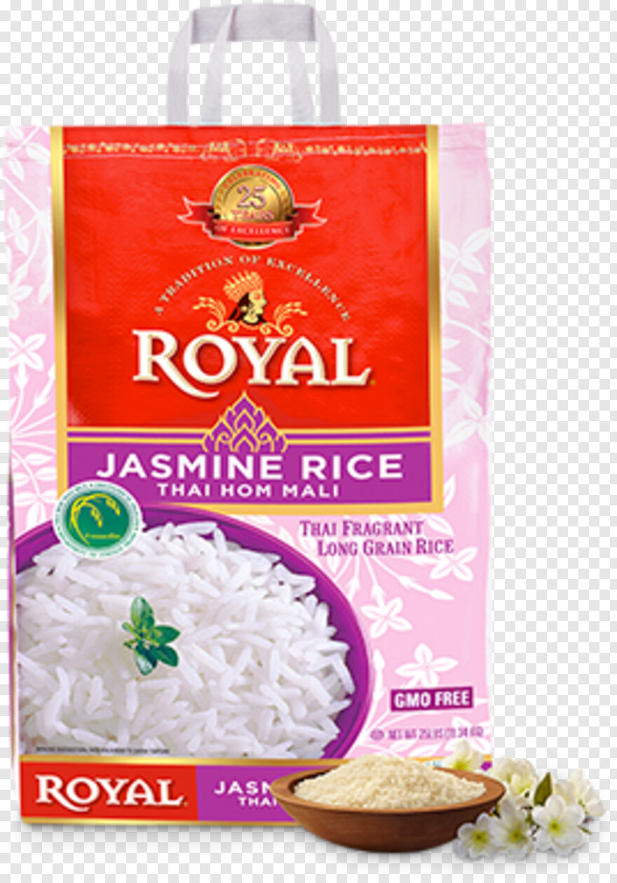 Rice - Royal Vietnamese Jasmine Rice (25 Lb.), Png Download - 315x405 (#790761) PNG Image