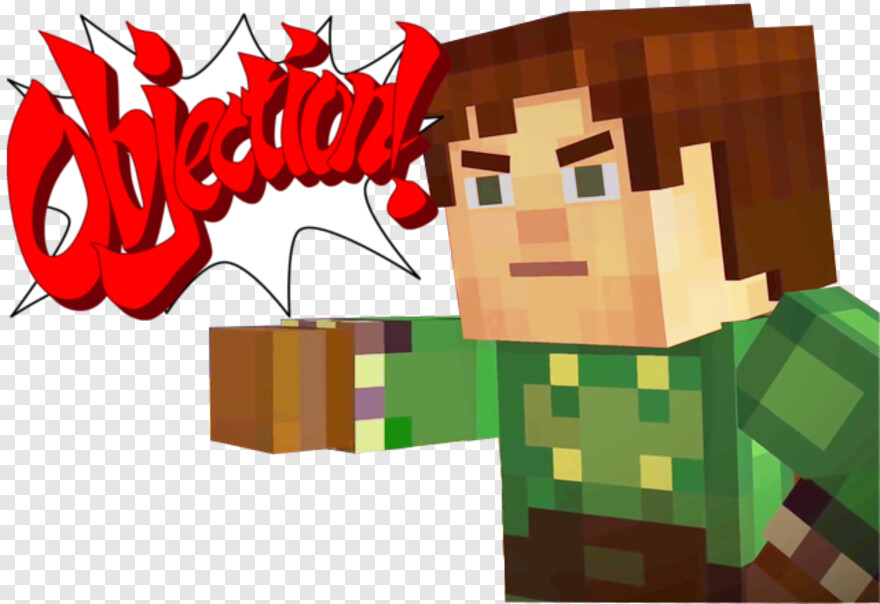 Minecraft Story Mode Minecraft Story Mode Memes Objection Png