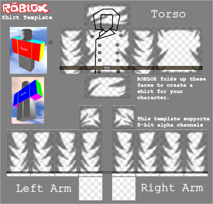 Roblox Template 2018 Download Roblox Shirt Free Roblox Shirt Templates 2018 Png Download 585x559 6655382 Png Image Pngjoy